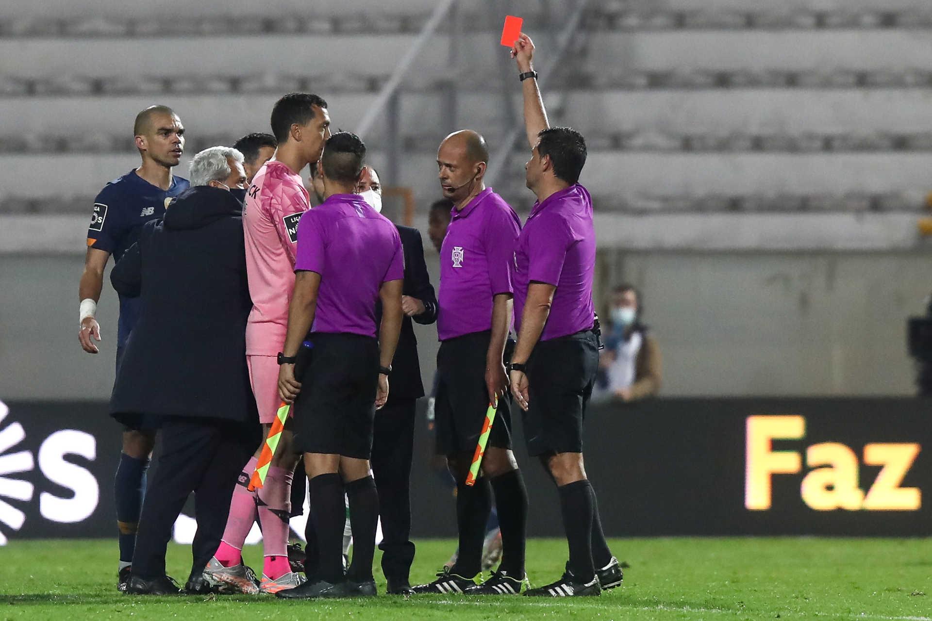 Conceição expulso e jornalista agredido após o Moreirense - F.C. Porto