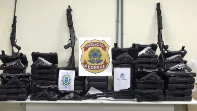 Milhares detidos e 200 mil armas apreendidas em operação da Interpol na América latina - milenio stadium - mundo