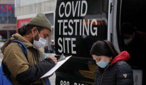 Mobile testing van in New York-Milenio Stadium-Canada
