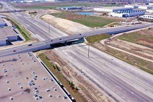 New extension of Highway 427-Milenio Stadium-Ontario