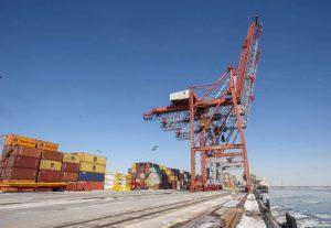 Shipping containers-Milenio Stadium-Canada