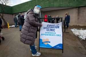 York vaccine clinic-Milenio Stadium-Ontario