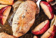Peitos de frango com maçã-toronto-mileniostadium