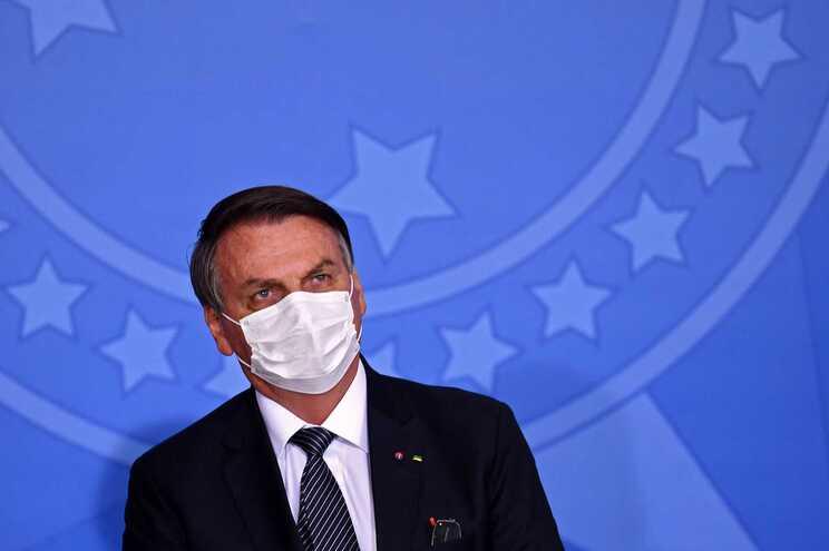 Bolsonaro diz que faltou marijuana em protestos contra o seu Governo