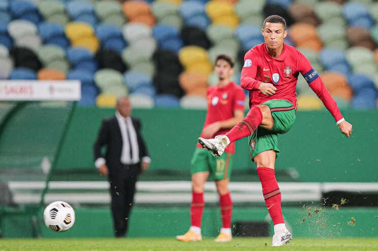 Cristiano Ronaldo na 11.ª fase final por Portugal
