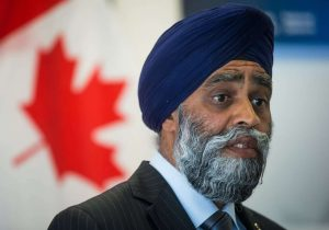 Defence Minister Harjit Sajjan-Milenio Stadium-Canada