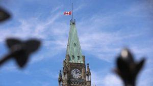 Flags on federal buildings lowered in memory of Kamloops residential school victims-Milenio Stadium-Canada