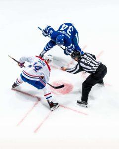 Leafs and Montreal Canadiens-Milenio Stadium-Ontario