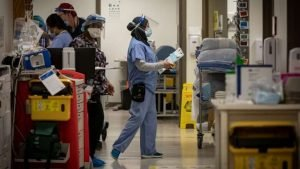 Registered practical nurses struggling with pandemic stress, workload-poll-Milenio Stadium-Ontario