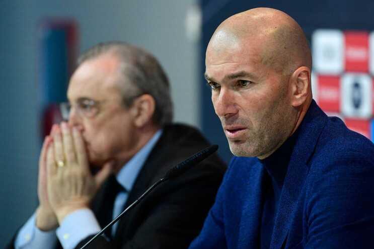 Zidane saiu por sentir falta de confiança da direção do Real Madrid
