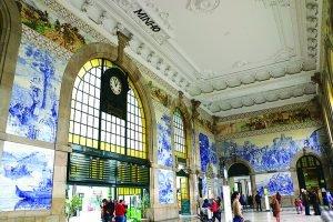 A grandiosidade do azulejo português-porto-mileniostadium