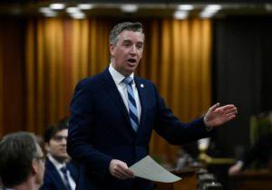 Conservative MP Michael Barrett-Milenio Stadium-Canada
