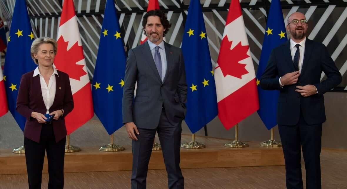 Eu-Canada Summit-Milenio Stadium-Canada