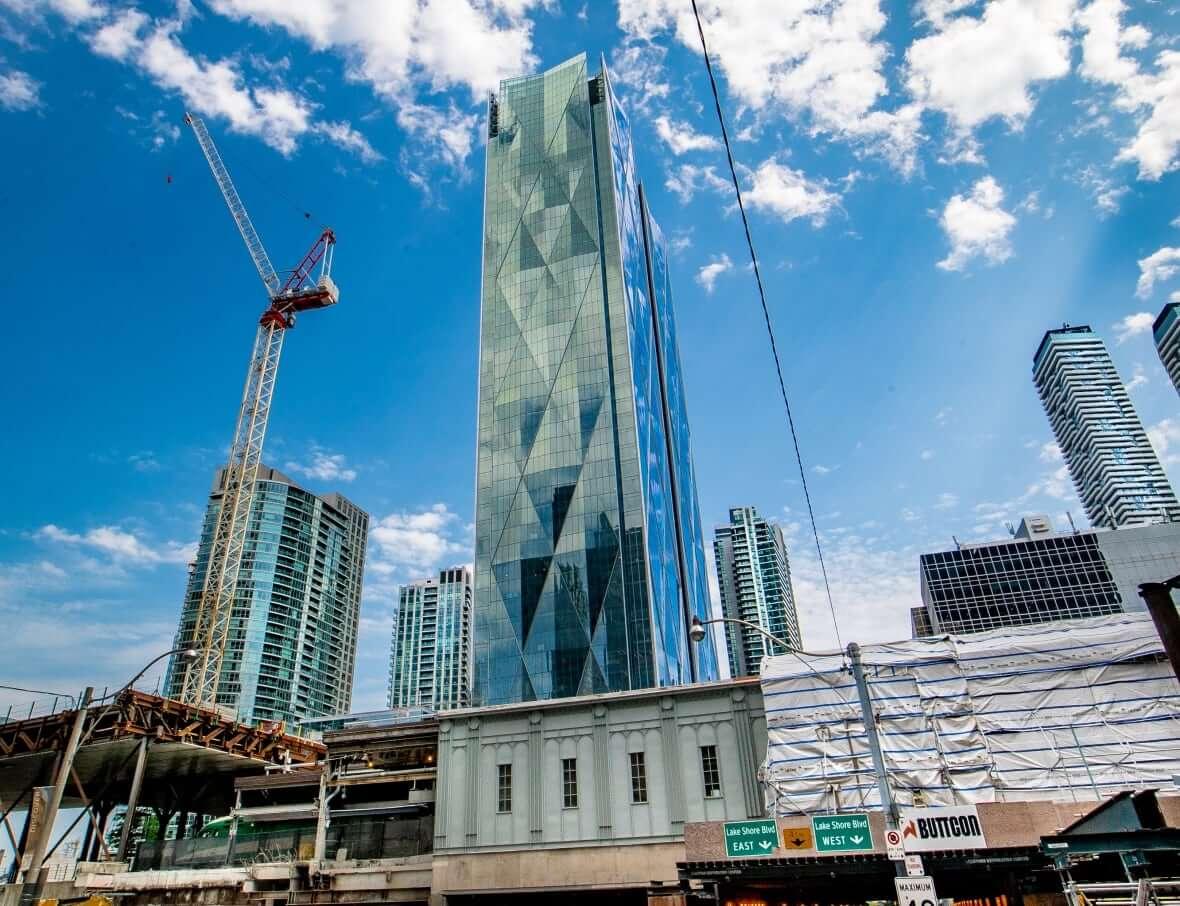 Office tower in Toronto-Milenio Stadium-Canada