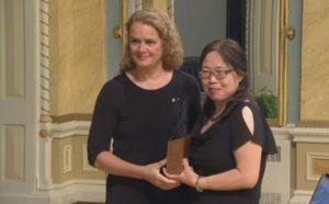 Qiu was given a Governor General's award in 2018-Milenio Stadium-Canada