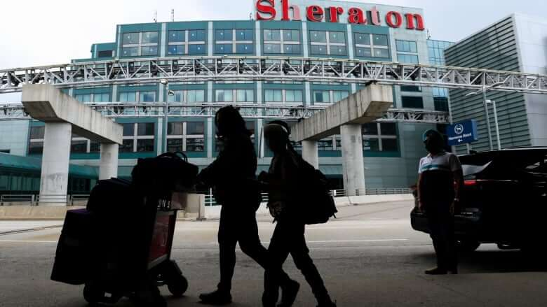 Some international travel restrictions easing July 5 for fully vaccinated people with proof-Milenio Stadium-Canada