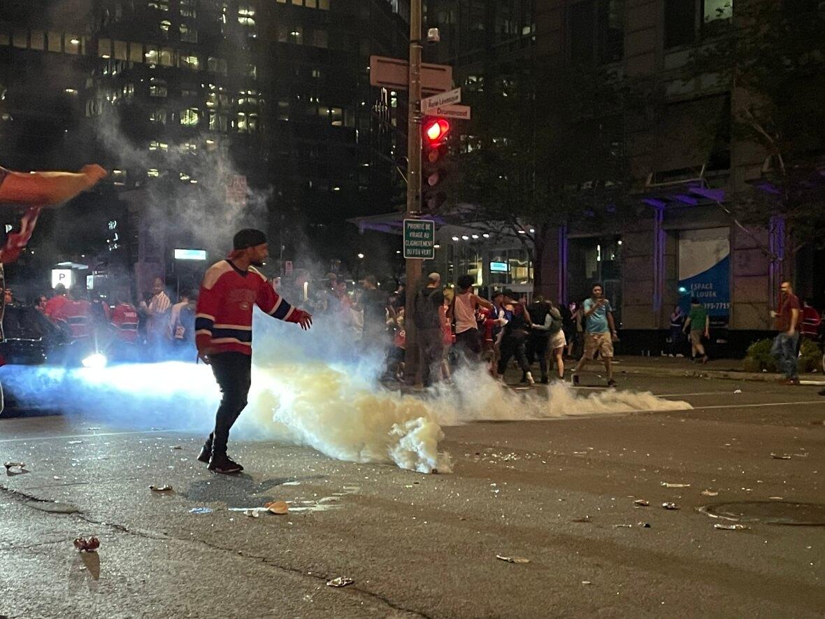Tear gas-Milenio Stadium-Canada