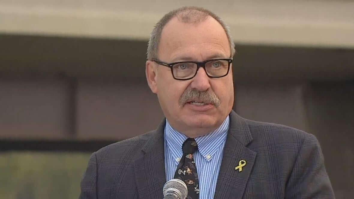 Transportation Minister Ric Mclver-Milenio Stadium-Canada