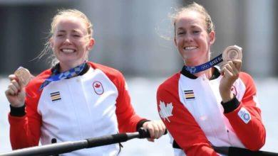 Canadian rowers Filmer, Janssens win bronze in women's pair event at Tokyo Olympics-Milenio Stadium-Canada