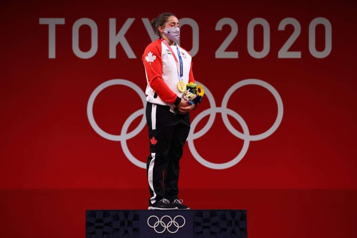 Charron in podium-Milenio Stadium-Canada