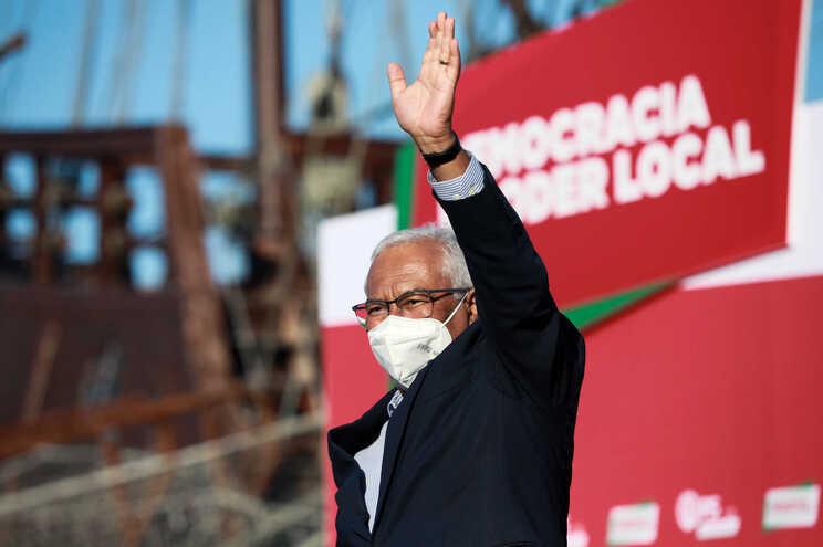Costa garante combate à crise sem austeridade - milenio stadium - portugal
