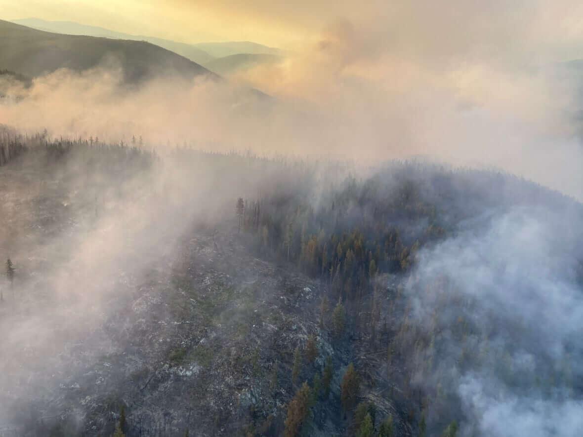 Fire in Renata BC-Milenio Stadium-Canada