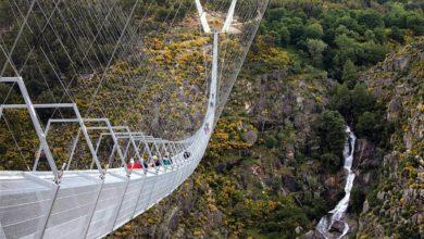 A maior ponte pedonal suspensa do mundo - portugal-mileniostadium
