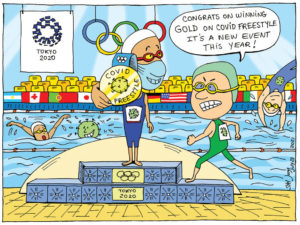 Covid Olympics -editorial-mileniostadium