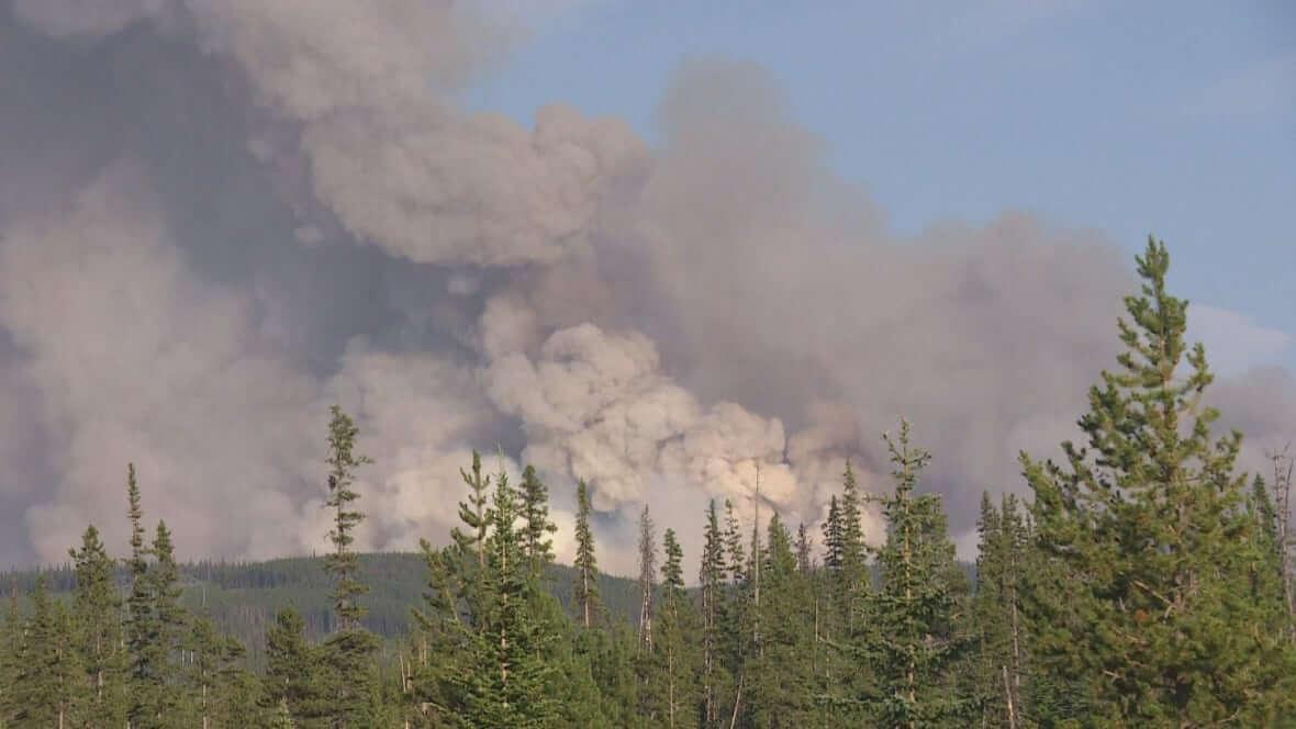 The Brenda Creek wildfire-Milenio Stadium-Canada