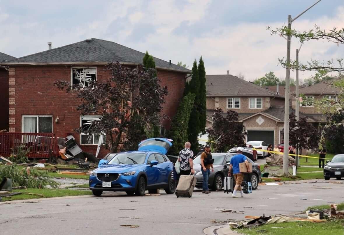 Tornado Barrie-Milenio Stadium-Ontario