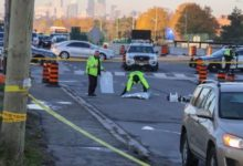 Toronto testing speed bumps to slow down left-turning drivers at busy intersections-Milenio Stadium-Ontario
