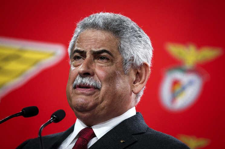 luis filipe vieira detido - milenio stadium - portugal