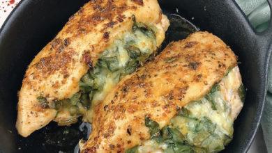Peito de frango recheado-culinaria-mileniostadium