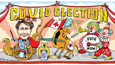 Eleições Federais Covid-cnada-mileniostadium