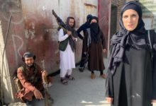 Jornalista norte-americana em Cabul cobre-se com hijab após invasão dos talibãs - milenio stadium - mundo