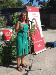 Julie Dzerowicz recandidata-se pela terceira-canada-mileniostadium
