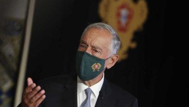 Marcelo diz que taxa de vacinação em Portugal é invejável na União Europeia - milenio stadium - portugal