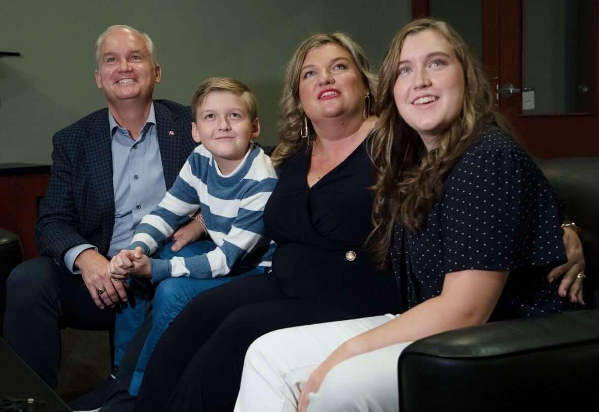 O'Toole with the family-Milenio Stadium-Canada