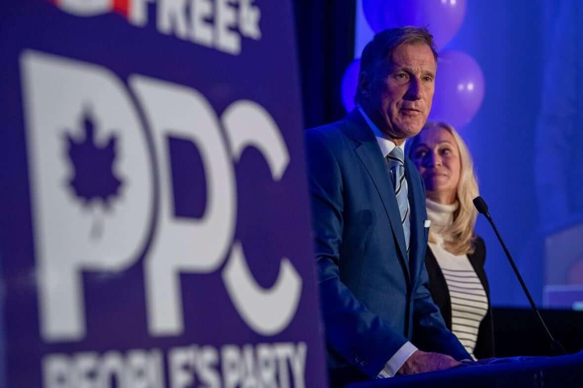 People's Party of Canada Leader Maxime Bernier-Milenio Stadium-Canada