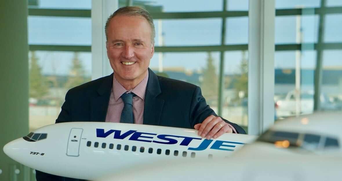 WestJet CEO-Milenio Stadium-Canada
