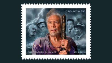 Canada Post reveals Christopher Plummer stamp featuring his iconic roles-Milenio Stadium-Canada