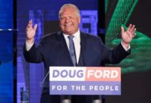 Doug Ford's PCs launch pre-election ads, with NDP, Liberals soon to follow-Milenio Stadium-Ontario