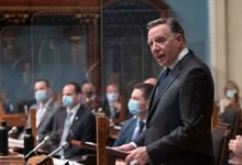 Legault relaunches session with promise to end state of emergency early in new year-Milenio Stadium-Canada