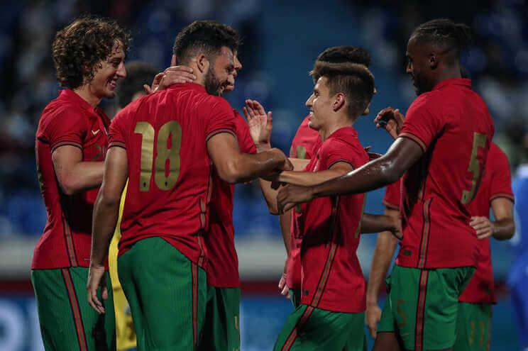 Maior-goleada-de-sempre-dos-Sub-21-de-Portugal-termina-com-11-golos-milenio-stadium-desporto
